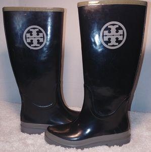 Tory Bosch Rain Boots